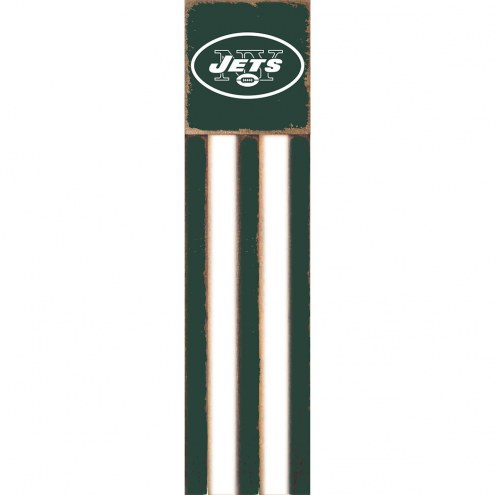 New York Jets Vertical Flag Wall Sign
