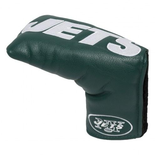 New York Jets Vintage Golf Blade Putter Cover