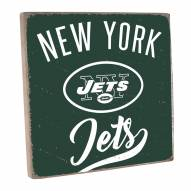 New York Jets Vintage Square Wall Sign