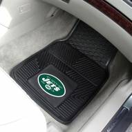 New York Jets Vinyl 2-Piece Car Floor Mats