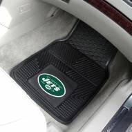 New York Jets Vinyl 2-Piece Car Floor Mats