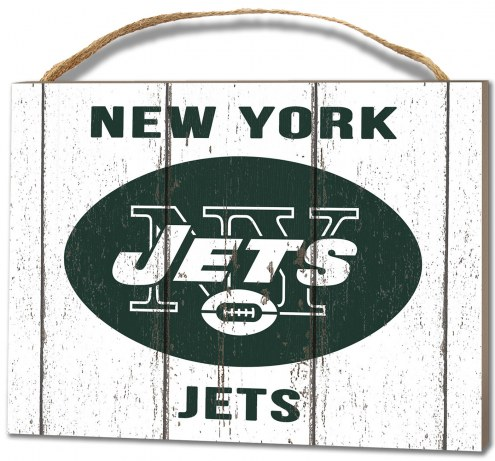 New York Jets Weathered Logo Small Plaque