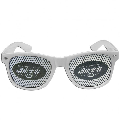 New York Jets White Game Day Shades