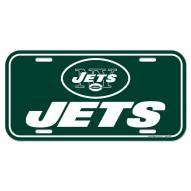 New York Jets License Plate