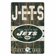New York Jets Slogan Wood Sign