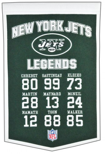New York Jets Legends Banner