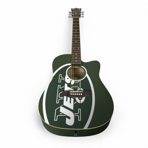 New York Jets Woodrow Acoustic Guitar