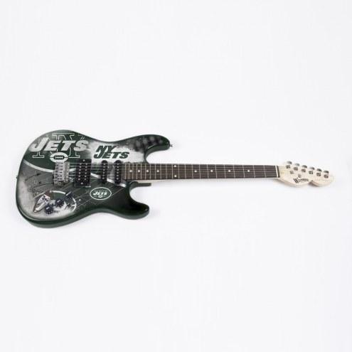 New York Jets Woodrow Northender Electric Guitar