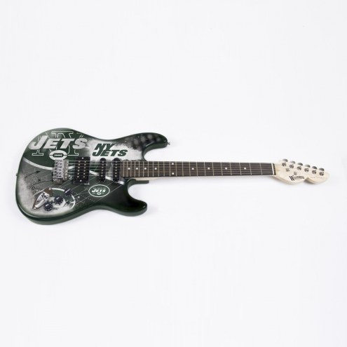 New York Jets Woodrow Northender Electric Guitar