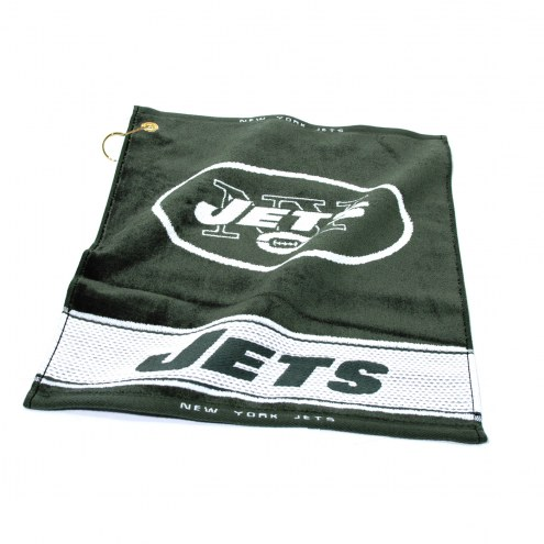 New York Jets Woven Golf Towel