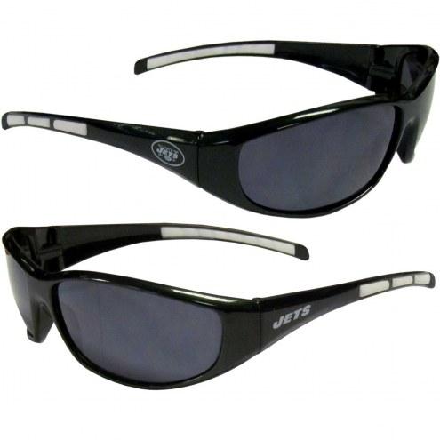 New York Jets Wrap Sunglasses