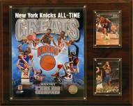 """New York Knicks 12"""" x 15"""" All-Time Great Photo Plaque"""