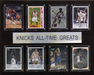 """New York Knicks 12"""" x 15"""" All-Time Greats Plaque"""