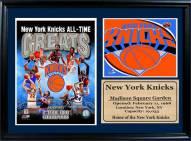 "New York Knicks 12"" x 18"" Greats Photo Stat Frame"