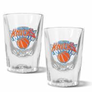 New York Knicks 2 oz. Prism Shot Glass Set