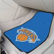 New York Knicks 2-Piece Carpet Car Mats