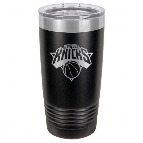 New York Knicks 20 oz. Black Stainless Steel Polar Tumbler