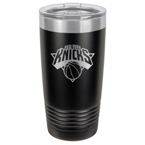 New York Knicks 20 oz. Black Stainless Steel Polar Tumbler