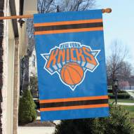 New York Knicks Appliqué 2-Sided Banner Flag