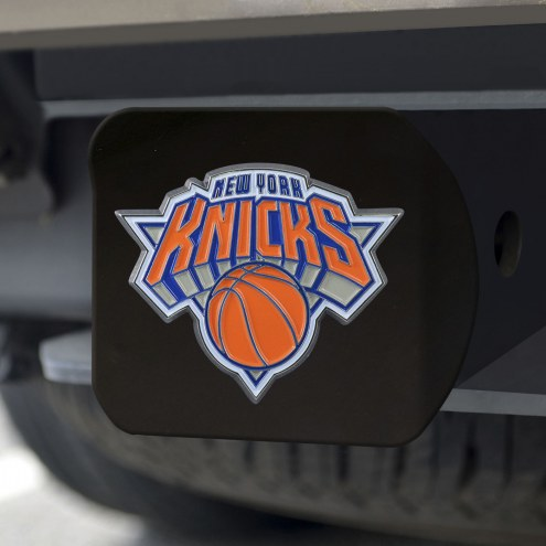 New York Knicks Black Color Hitch Cover