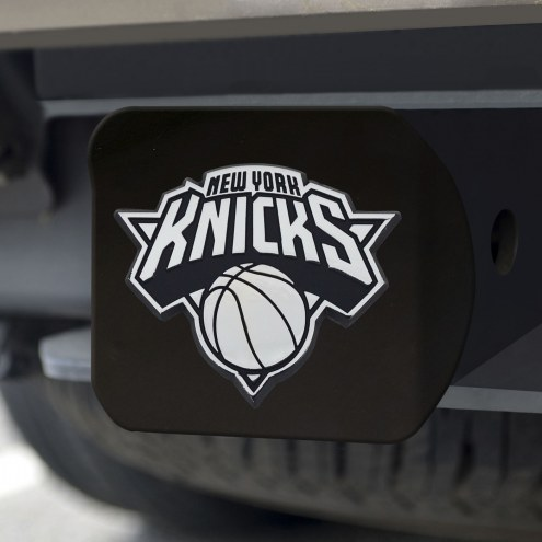 New York Knicks Black Matte Hitch Cover