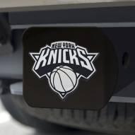 New York Knicks Black Matte Hitch Cover