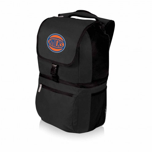 New York Knicks Black Zuma Cooler Backpack