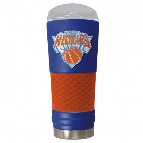 New York Knicks Blue 24 oz. Powder Coated Draft Tumbler