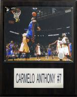"New York Knicks Carmelo Anthony 12"" x 15"" Player Plaque"