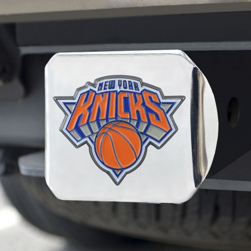 New York Knicks Chrome Color Hitch Cover