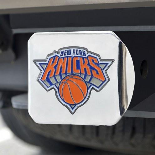New York Knicks Chrome Color Hitch Cover