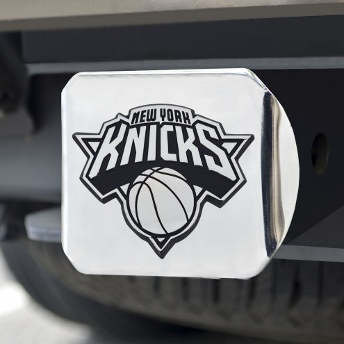 New York Knicks Chrome Metal Hitch Cover
