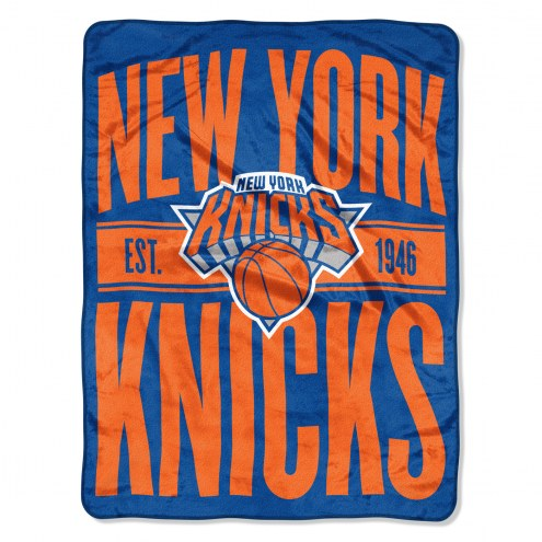 New York Knicks Clear Out Throw Blanket