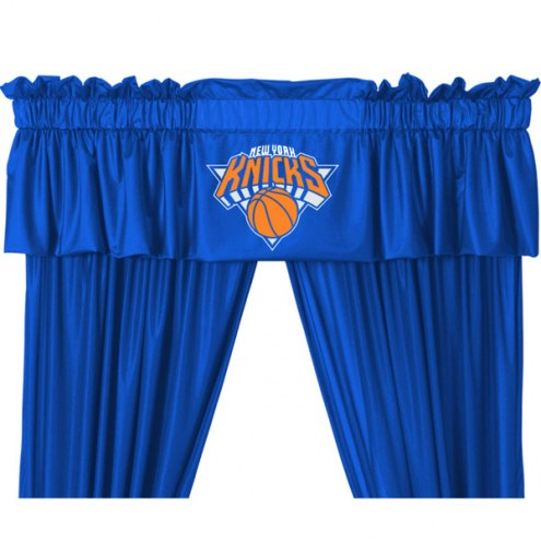 New York Knicks Curtain Valance