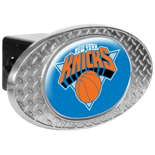 New York Knicks Metal Diamond Plate Trailer Hitch Cover