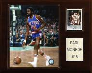 "New York Knicks Earl Monroe 12"" x 15"" Player Plaque"