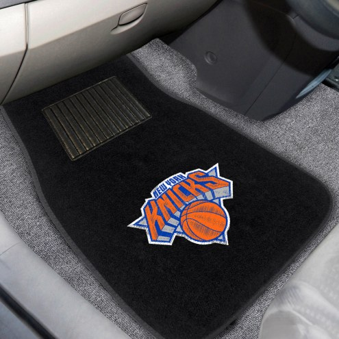 New York Knicks Embroidered Car Mats