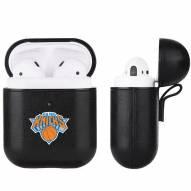 New York Knicks Fan Brander Apple Air Pods Leather Case
