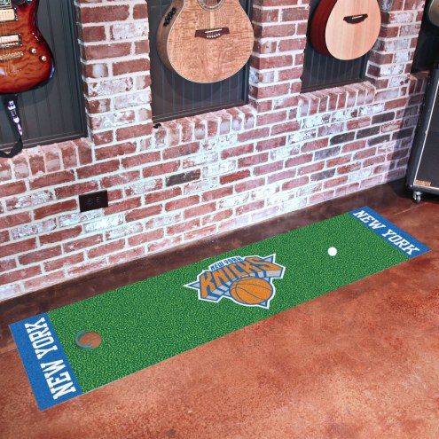 New York Knicks Golf Putting Green Mat