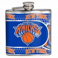 New York Knicks Hi-Def Stainless Steel Flask