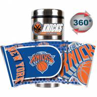 New York Knicks Hi-Def Travel Tumbler