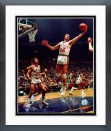 New York Knicks Jerry Lucas 1973 Action Framed Photo