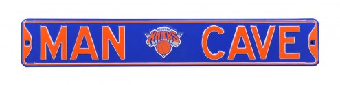 New York Knicks Man Cave Street Sign