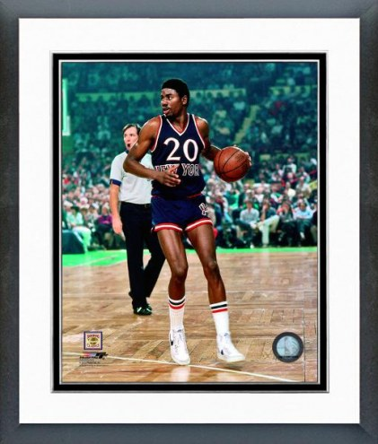 New York Knicks Micheal Ray Richardson 1980 Action Framed Photo