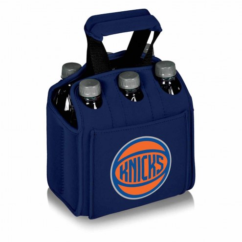 New York Knicks Navy Six Pack Cooler Tote