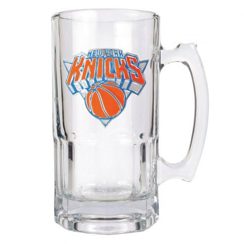 New York Knicks NBA 1 Liter Glass Macho Mug