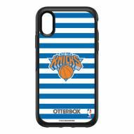 New York Knicks OtterBox iPhone XR Symmetry Stripes Case