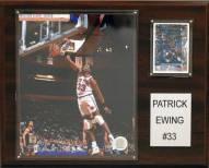 "New York Knicks Patrick Ewing 12"" x 15"" Player Plaque"