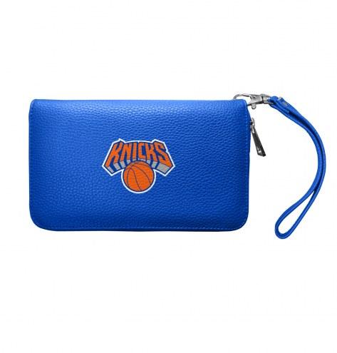 New York Knicks Pebble Organizer Wallet