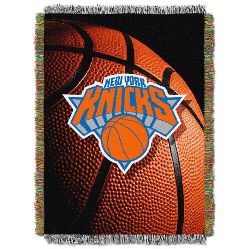New York Knicks Photo Real Throw Blanket